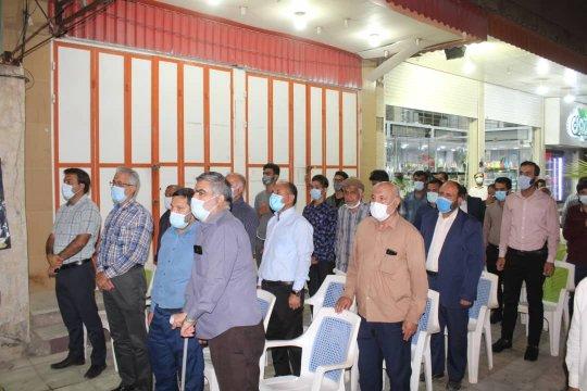 مراسم سخنرانی شب گذشته در محل ستاد سمر آیت اله رئیسی در برازجان +تصاویر