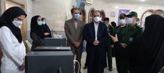 اختصاصی/سومین مرکز تجمیعی واکسن کرونا در برازجان افتتاح شد+گزارش تصویری