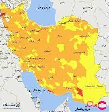 کرونا در استان بوشهر کم رنگ تر شد ،لزوم رعایت بیشتر تا وضعیت سفید