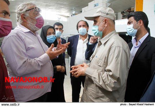 رهاورد حضور دکتر محمدی زاده ،تسریع ملموس در واکسیناسیون ،افزایش امید در استان ،حضور میدانی در تمام عرصه ها،نوید روزهای بهتر برای مردم استان