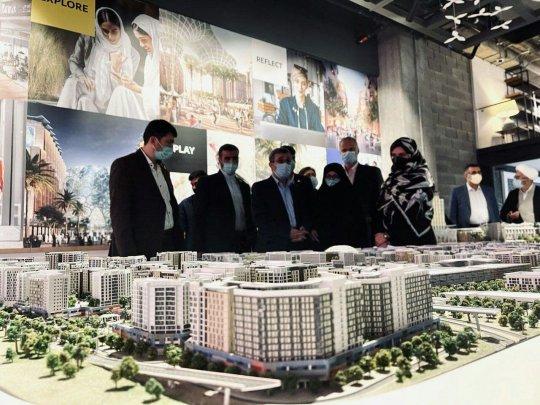 تصاویر/ حضور احمدینژاد در اکسپو ۲۰۲۰ دبی
