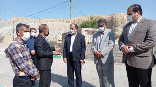 بازدید میدانی فرماندار دشتستان از مناطق مختلف شهرستان +گزارش مشروح و تصویری