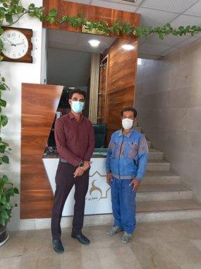 حرکتی برای الگو سازی،امانتداری یکی از کارگران دهیاری روستای دهقاءد دشتستان+تصویر